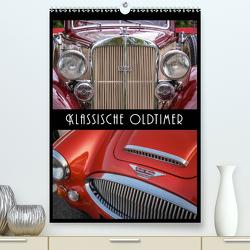 Klassische Oldtimer (Premium, hochwertiger DIN A2 Wandkalender 2021, Kunstdruck in Hochglanz) von Mueringer,  Christian