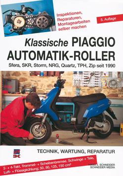Klassische Piaggio Automatik-Roller von Schneider,  Hans J.