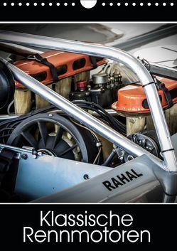 Klassische Rennmotoren (Wandkalender 2019 DIN A4 hoch) von Mulder / Corsa Media,  Michiel