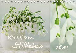 klassische Stillleben (Tischkalender 2019 DIN A5 quer) von Schwarz,  Nailia