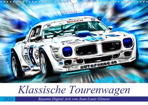 Klassische Tourenwagen – Rasante Digital Arts von Jean-Louis Glineur (Wandkalender 2020 DIN A3 quer) von N.,  N.