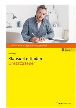 Klausur-Leitfaden Umsatzsteuer von Nürnberg,  Philip