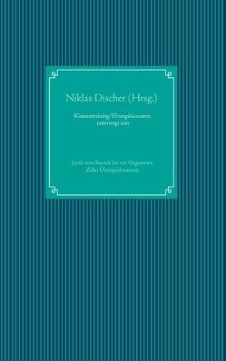Klausurtraining/ Übungsklausuren unterwegs sein von Discher,  Niklas