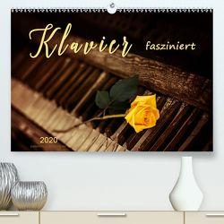 Klavier fasziniert (Premium, hochwertiger DIN A2 Wandkalender 2020, Kunstdruck in Hochglanz) von Roder,  Peter
