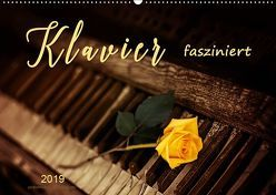 Klavier fasziniert (Wandkalender 2019 DIN A2 quer)