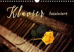 Klavier fasziniert (Wandkalender 2019 DIN A4 quer)