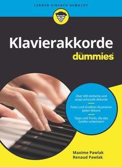Klavierakkorde für Dummies von Fehn,  Oliver, Pawlak,  Maxime, Pawlak,  Renaud