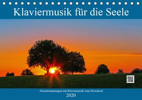 Klaviermusik für die Seele (Tischkalender 2020 DIN A5 quer) von Eppele,  Klaus
