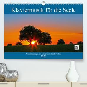 Klaviermusik für die Seele (Premium, hochwertiger DIN A2 Wandkalender 2020, Kunstdruck in Hochglanz) von Eppele,  Klaus