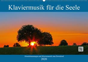 Klaviermusik für die Seele (Wandkalender 2020 DIN A2 quer) von Eppele,  Klaus