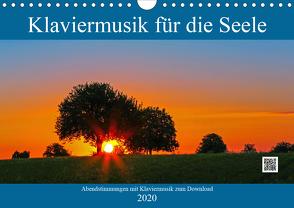Klaviermusik für die Seele (Wandkalender 2020 DIN A4 quer) von Eppele,  Klaus