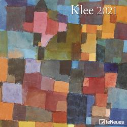 Klee 2021 – Wand-Kalender – Broschüren-Kalender – 30×30 – 30×60 geöffnet – Kunst-Kalender von Klee,  Paul