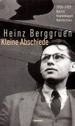 Kleine Abschiede von Berggruen,  Heinz, Harpprecht,  Klaus