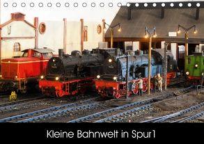 Kleine Bahnwelt in Spur 1 (Tischkalender 2018 DIN A5 quer) von Hegerfeld-Reckert,  Anneli
