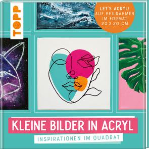 Kleine Bilder in Acryl von Hahn,  Imke, Keck,  Gecko, Klimmer,  Bernd, Malberg,  Gabriele, Mesch,  Sylwia, Reiter,  Monika, Simon,  Melinda, Stapff,  Christin, Türk,  Sabine