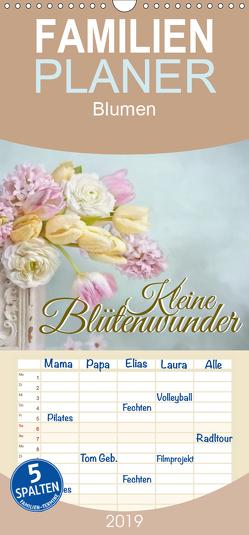 Kleine Blütenwunder – Familienplaner hoch (Wandkalender 2019 , 21 cm x 45 cm, hoch) von Pe,  Lizzy
