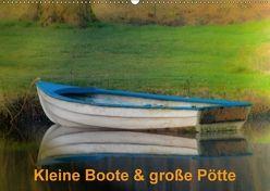 Kleine Boote & große Pötte / Geburtstagskalender (Wandkalender 2018 DIN A2 quer) von J. Sülzner / NJS-Photoraphie,  Norbert