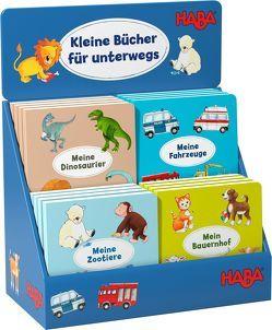 Kleine Bücher für unterwegs von Borker,  Karolin, Kraushaar,  Sabine, Leykamm,  Martina, Roßbach,  Iris