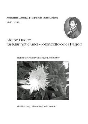 Kleine Duette für Klarinette und Violoncello oder Fagott von Backofen,  Johann G, Eichstädter,  Edgar