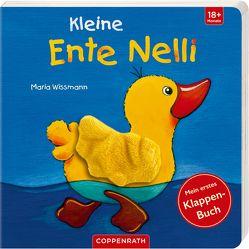 Kleine Ente Nelli: Mein erstes Klappenbuch von Wissmann,  Maria