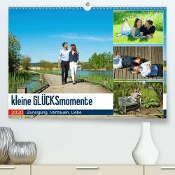 Kleine Glücksmomente Zuneigung, Vertrauen, Liebe (Premium, hochwertiger DIN A2 Wandkalender 2020, Kunstdruck in Hochglanz) von Marten,  Martina
