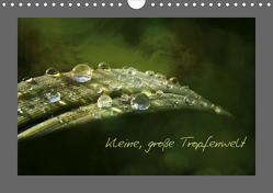 Kleine, große Tropfenwelt (Wandkalender 2020 DIN A4 quer) von Hultsch,  Heike