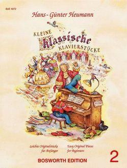 Kleine klassische Klavierstücke 2 von Heumann,  Hans G