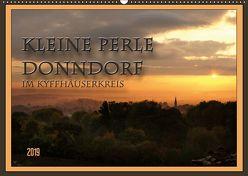 Kleine Perle Donndorf im Kyffhäuserkreis (Wandkalender 2019 DIN A2 quer) von Flori0