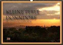 Kleine Perle Donndorf im Kyffhäuserkreis (Wandkalender 2019 DIN A3 quer) von Flori0