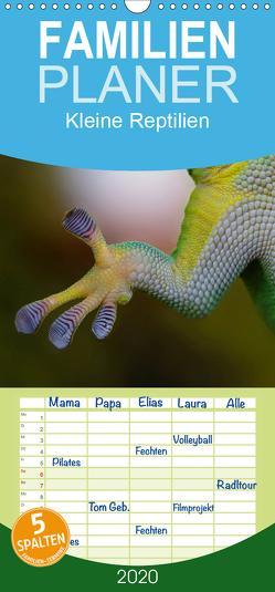 Kleine Reptilien – Familienplaner hoch (Wandkalender 2020 , 21 cm x 45 cm, hoch) von Stanzer,  Elisabeth