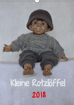 Kleine Rotzlöffel 2018 (Wandkalender 2018 DIN A3 hoch) von Arnold,  Hernegger