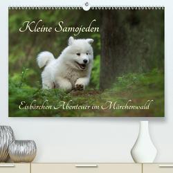 Kleine Samojeden – Eisbärchen Abenteuer im Märchenwald (Premium, hochwertiger DIN A2 Wandkalender 2021, Kunstdruck in Hochglanz) von Pelzer / www.Pelzer-Photography.com,  Claudia