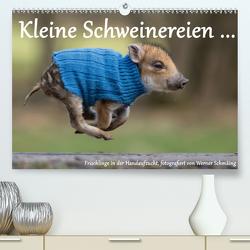 Kleine Schweinereien (Premium, hochwertiger DIN A2 Wandkalender 2021, Kunstdruck in Hochglanz) von Schmäing,  Werner