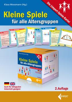 Kleine Spiele für alle Altersgruppen von Moosmann,  Klaus