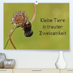Kleine Tiere in trauter Zweisamkeit (Premium, hochwertiger DIN A2 Wandkalender 2021, Kunstdruck in Hochglanz) von Schmutzler-Schaub,  Christine