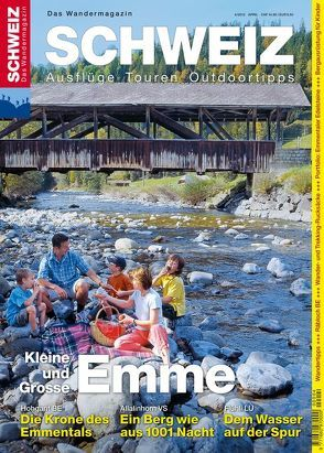 Kleine und Grosse Emme Wandermagazin SCHWEIZ von Meier,  Peter L