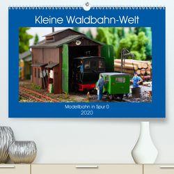 Kleine Waldbahn-Welt – Modellbahn in Spur 0 (Premium, hochwertiger DIN A2 Wandkalender 2020, Kunstdruck in Hochglanz) von Hegerfeld-Reckert,  Anneli