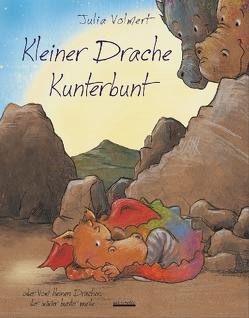 Kleiner Drache Kunterbunt von Volmert,  Julia
