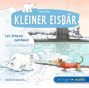 Kleiner Eisbär. Lars, bring uns nach Hause! / Lars in der Walbucht von Beer,  Hans de, Götze,  Monika, Gustavus,  Frank, Icks,  Sascha, Poppe,  Kay