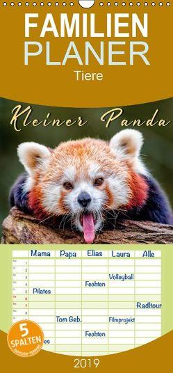 Kleiner Panda – Familienplaner hoch (Wandkalender 2019 , 21 cm x 45 cm, hoch) von Roder,  Peter