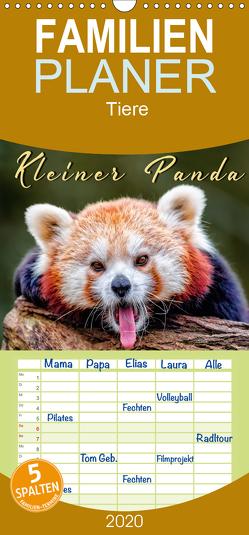 Kleiner Panda – Familienplaner hoch (Wandkalender 2020 , 21 cm x 45 cm, hoch) von Roder,  Peter