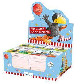 Der kleine Rabe Socke: Farben, Formen, Zahlen, Gegensätze – Display (4 x 8 Expl.) von Moost,  Nele, Rudolph,  Annet