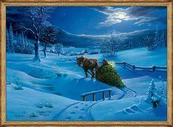 Kleiner Wandkalender – Winterlandschaft von Rohrbeck,  Manfred