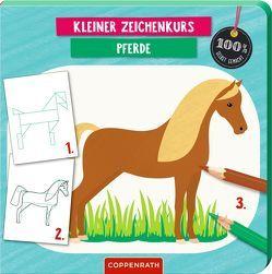 Kleiner Zeichenkurs Pferde von Betts,  Anna