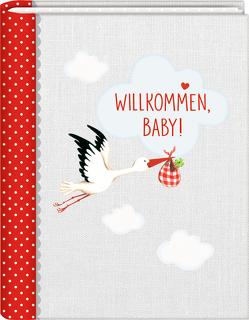 Kleines Foto-Einsteckalbum – BabyGlück – Willkommen, Baby! von Mußenbrock,  Anne