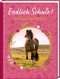 Kleines Geschenkbuch – Pferdefreunde – Endlich Schule! von Roß,  Thea, Slawik,  Christiane