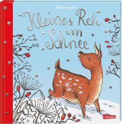 Kleines Reh im Schnee von Surplice,  Holly, Taube,  Anna