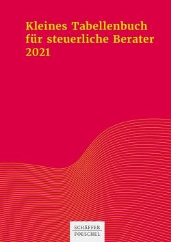 Kleines Tabellenbuch für steuerliche Berater 2021 von Himmelberg,  Sabine, Jenak,  Katharina, Rick,  Eberhard