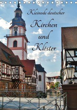 Kleinode deutscher Kirchen und Klöster (Tischkalender 2018 DIN A5 hoch) von Janke,  Andrea