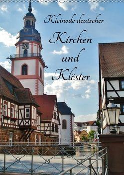 Kleinode deutscher Kirchen und Klöster (Wandkalender 2018 DIN A2 hoch) von Janke,  Andrea